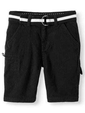 0809896791631 Product Image Big Boys' Belted Cargo Short With Cell Phone Pocket