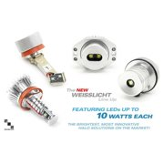 Bimmian LHU909WH2 Weisslicht LED Halo Upgrade Kit, Ultra-Bright LED Version 3
