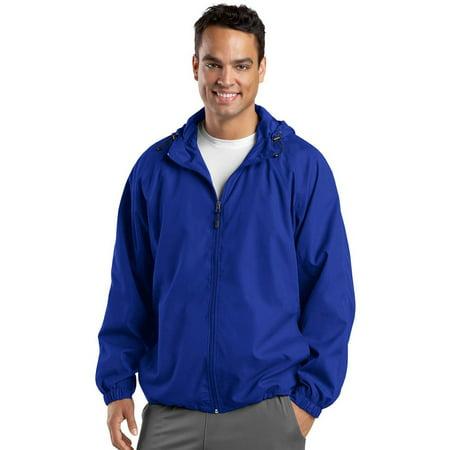 Sport-Tek Men's Stylish Drawcord Hooded Raglan (Best Stylish Rain Jacket)
