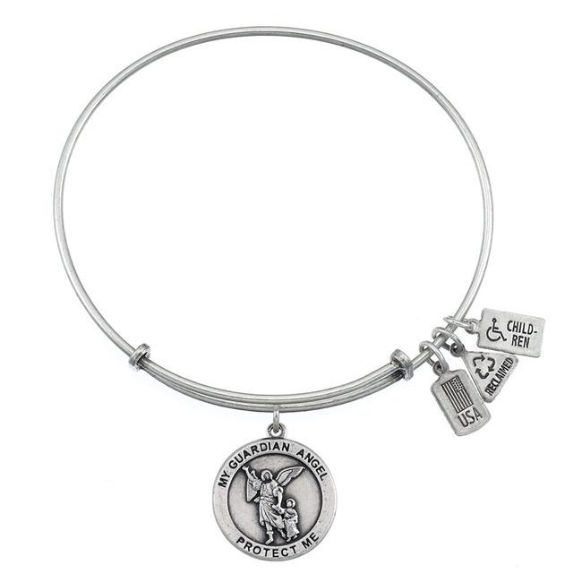 Wind & Fire Jewelry - Wind & Fire Guardian Angel Silver ...