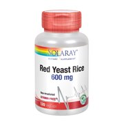 Best Red Yeast Rice - Solaray Red Yeast Rice 600mg | Healthy Heart Review