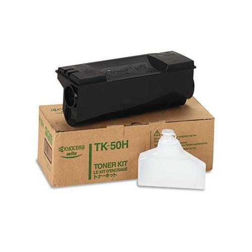 Kyocera TK50H Toner, 15000 Page-Yield, Black