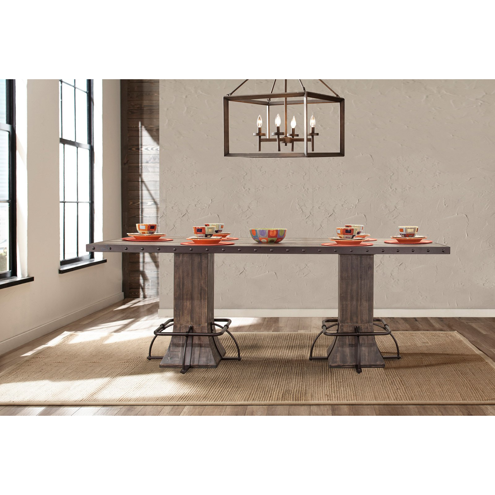 Hillsdale Furniture Jennings Rectangle Counter Height Dining Table