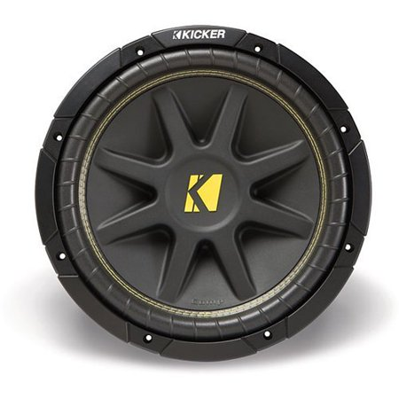 Kicker 10C104 Comp 10-Inch Subwoofer 4 Ohm (Black) (Subwoofer Kicker Comp R)