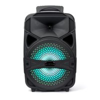 Portable Wireless Bluetooth Tailgate Speaker With LED Flashing Lights with Mic