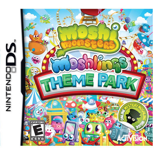 Moshi Monsters Moshlings Theme (DS) - Pre-Owned
