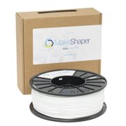 MakeShaper White PLA 3.0mm Filament (1Kg)