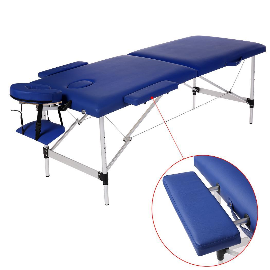 BETT Folding Bed Pad Chair Spa Facial Massage Table Carry...