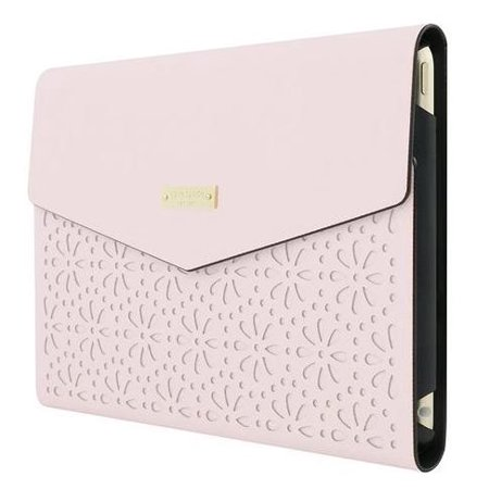 best service 2b850 ed8a7 Kate spade New York Perforated Envelope Folio Case Apple iPad mini 4 Rose  Quartz