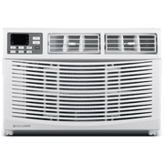 Cool-Living 15,000 BTU 115-Volt Window Air Conditioner with Digital Display and Remote, White
