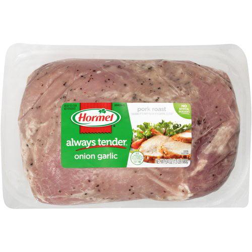 Hormel Always Tender Onion Garlic Boneless Pork Roast, 24 oz