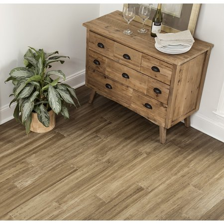 Desert Haze 8.5 mm Thickness x 5.12 in. Width x 36.22 in. Length Water Resistant Engineered Bamboo Flooring (10.30 sq. ft. /