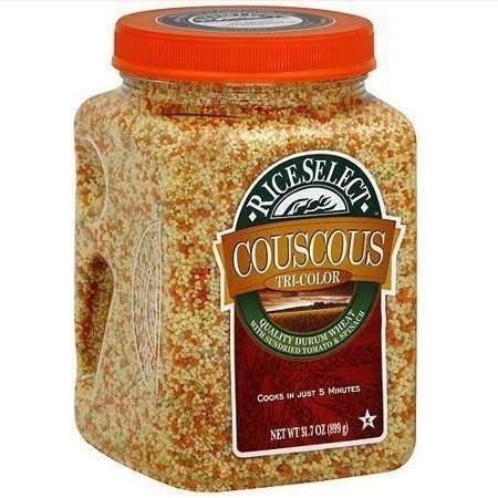 4 Pack : Riceselect, Couscous Tri-color, 31.7 Oz