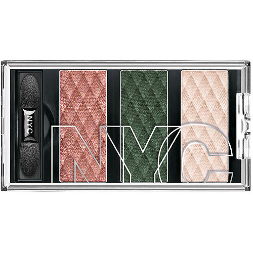 NYC New York Color HD Trio Eye Shadow, Urban Spice