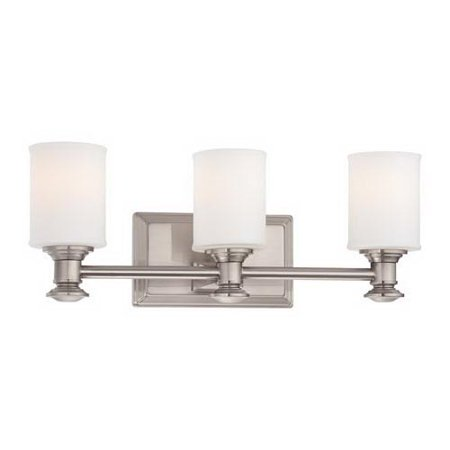 Minka-Lavery Harbour Point Transitional Colonial 5173 Dimmable Bathroom Vanity Light (Colonial Vanity)