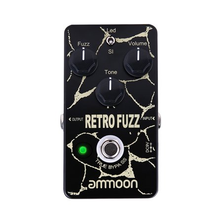 ammoon RETRO FUZZ Analog Fuzz Guitar Effect Pedal 2 Modes True Bypass Aluminum Alloy Shell - image 2 of 7