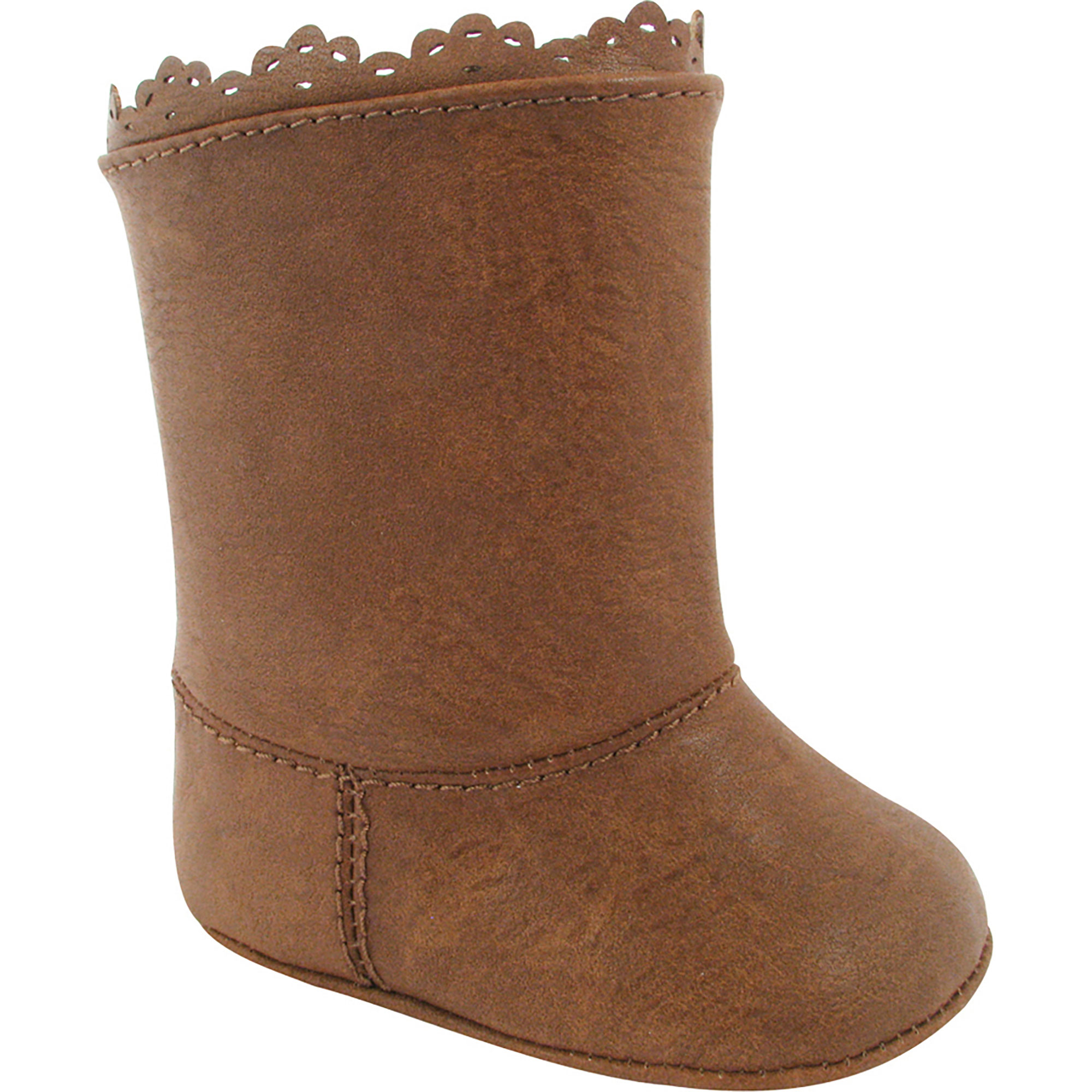 Baby Deer Baby Infant Girls Brown Boots (Crib Shoes) - Tan Brown ...