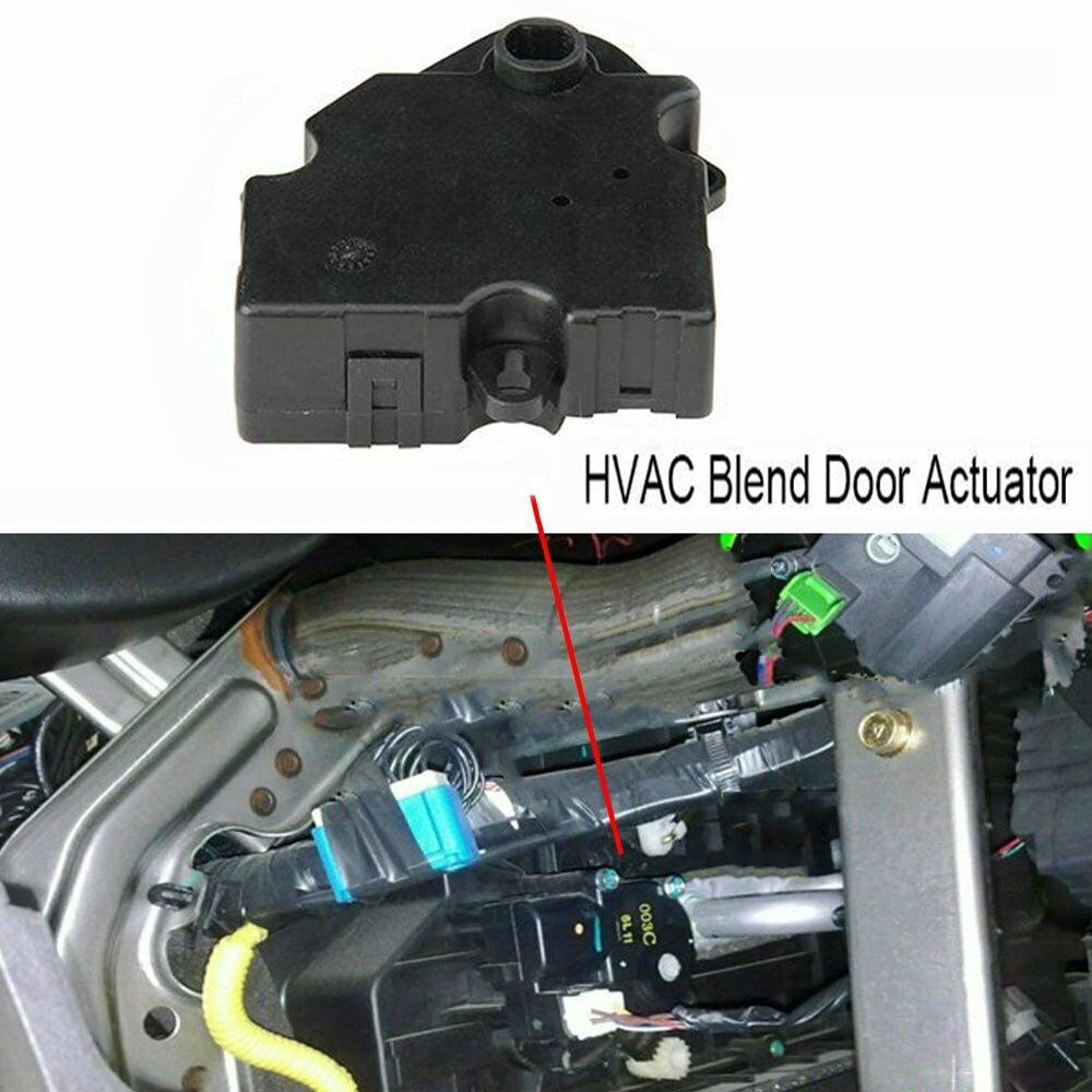 2 Heat Heater A C Ac Fan Air Vent Blend Door Actuator For Chevy Gmc Pickup Truck Walmart Com