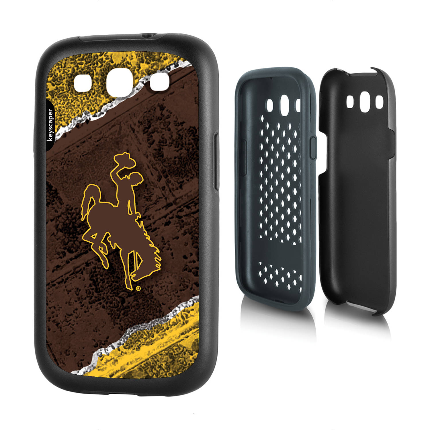 Wyoming Cowboys Galaxy S3 Rugged Case