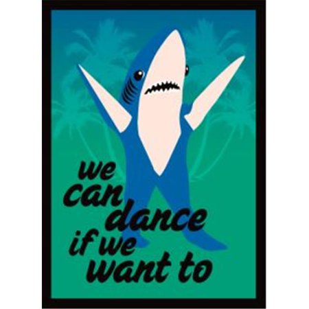Legion Supplies LGNART047 DP We Can Dance Shark (Shark Supplies)