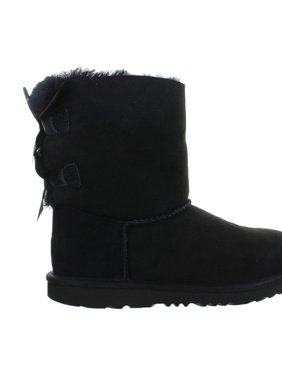 Kids UGG Bailey Bow II Boot Black 1017394K-BLK