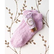 French Lavender Cozy Sock and Lotion Gift-Boxed Set