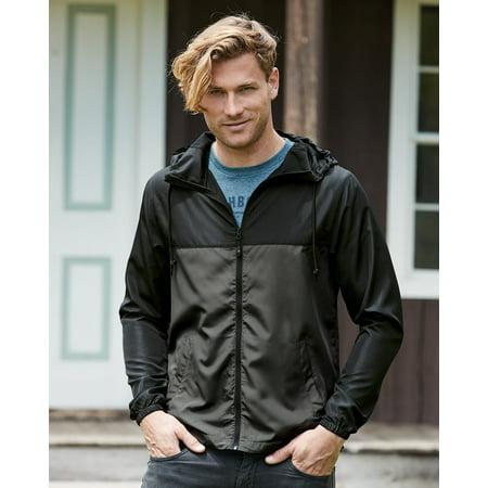 Independent Trading Co. Light Weight Windbreaker Zip Jacket