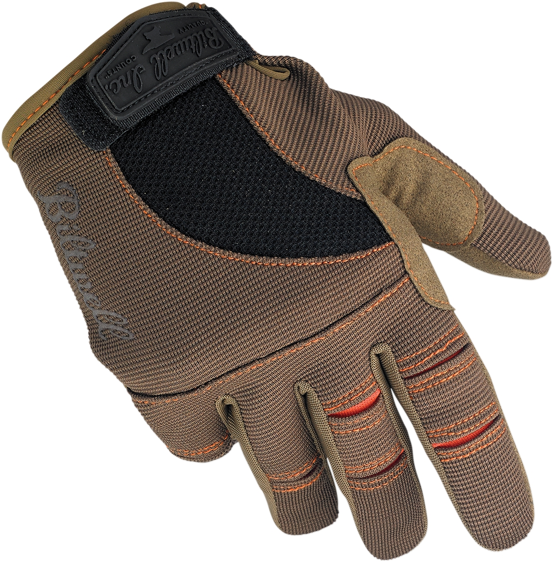 BILTWELL Moto Gloves Black/Red XL  GL-XLG-BK-RD