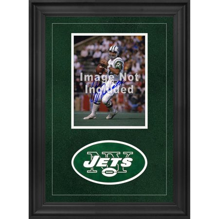 "New York Jets Deluxe 8"" x 10"" Vertical Photograph Frame with Team Logo"