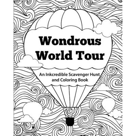 Wondrous World Tour : An Inkcredible Scavenger Hunt and