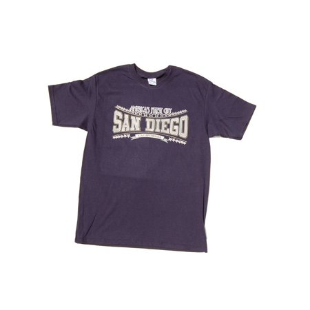 America's Finest City San Diego T-Shirt - Navy Blue, - Adult Store San Diego