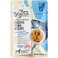 Purina Beyond Natural, High Protein, Grain Free Broth Wet Cat Food Complement, Pacific Tuna Recipe - (16) 1.4 oz. Pouches