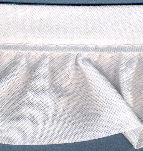 "Simplicity Ruffled Quilt Binding 2""X15yd White"