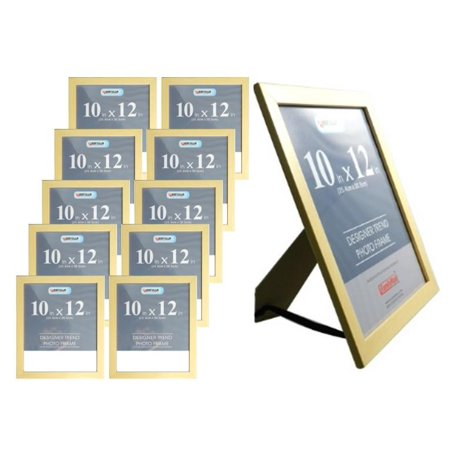 Weyli 10x12 11x14 Wood Photo Picture And Document Frame 10 Pack
