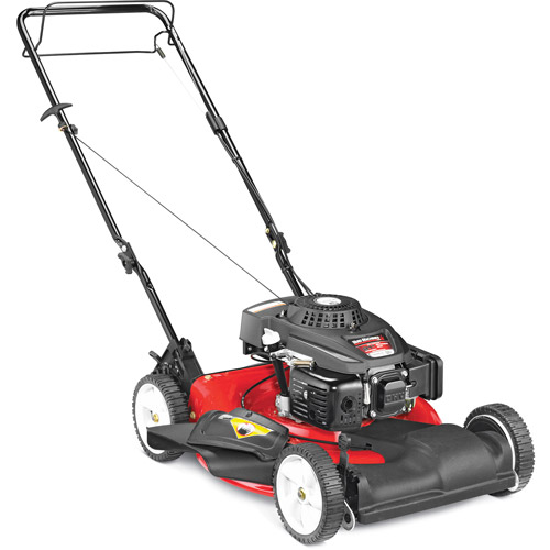 "Yard Machines 21"" Gas Self-Propelled Lawn Mower with Side Discharge and Mulching"