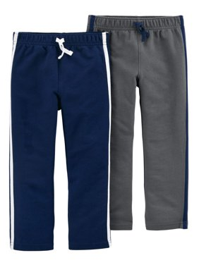 Child of Mine by Carter's Toddler Boy French Terry Jogger Pants, 2-pack