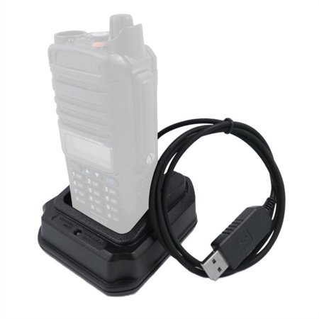 Replacement for Baofeng UV-XR UV-9R Plus A58 BF-9700 Radio USB Li-ion Radio Battery Charger Input 5V 1A - image 2 of 7