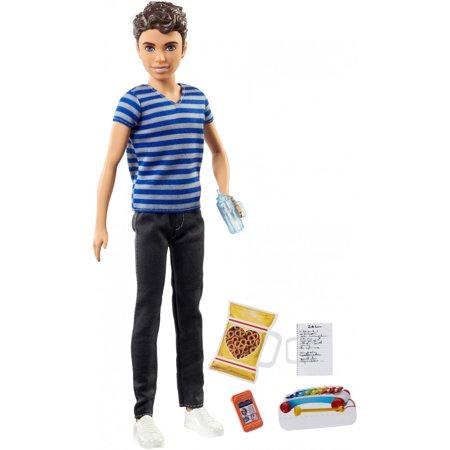 Amer Doll - Barbie Skipper Babysitters Inc. Boy Sitter Doll with Accessories