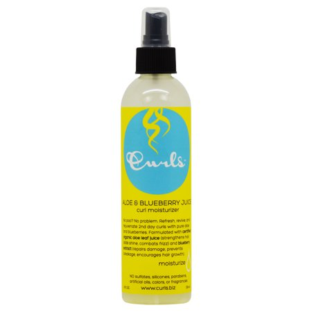 - Curls Aloe & Blueberry Juice Curl Moisturizer 8oz