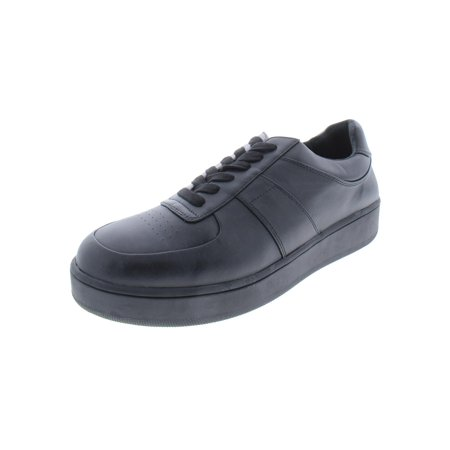 Steve Madden Mens Armed Faux Leather Low Top Casual