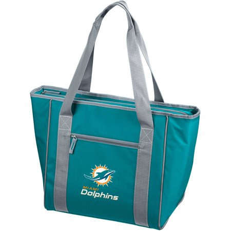 Logo NFL Miami Dolphins 30-Can Cooler Tote by