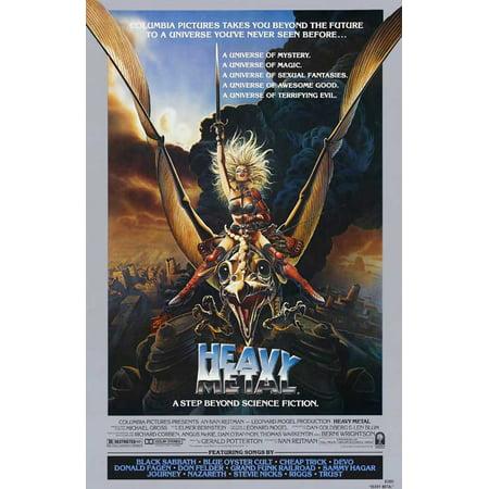 Heavy Metal (1981) 27x40 Movie - Halloween 2 1981 Movie Poster