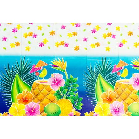 Unique Tropical Luau Party Floral 54