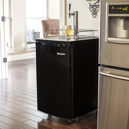EdgeStar KC2000HBKG 20 Inch Wide Kegerator with Home Brew Tap and Ultra Low (Best 48 Inch Refrigerator 2019)