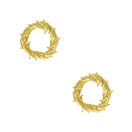 Crown of Thorns Easter Lent Lapel Pin Rose Gold (Set of 2), Christian