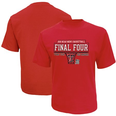 Texas Tech Red Raiders Russell 2019 NCAA Men's Basketball Tournament March Madness Final Four Bound T-Shirt - (Best Red Basketball Jersey)