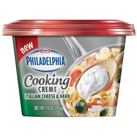 Kraft Philadelphia Italian Cheese Herb Cooking Creme