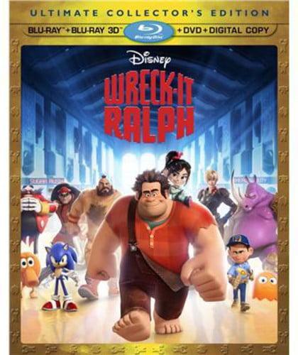 Wreck-It Ralph (Blu-ray + Blu-ray + DVD)
