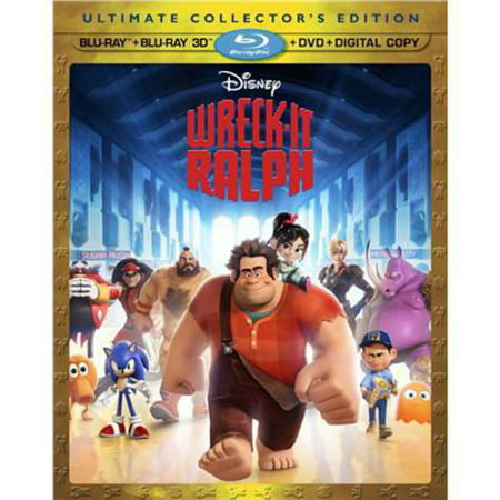 Wreck It Ralph  Blu Ray   Blu Ray   Dvd