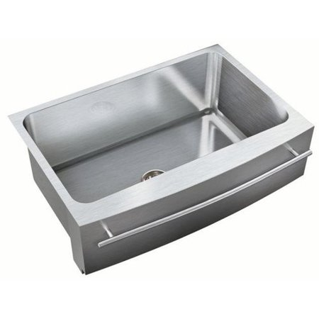 19.5 Apron - Just Manufacturing 30'' L x 19.5'' W Single Bowl Undermount Kitchen Sink